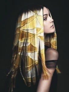 Unique Evocative Hair Color - 2014
