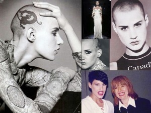 Eval Salvail, Bald Model With Tattoo – '90s
