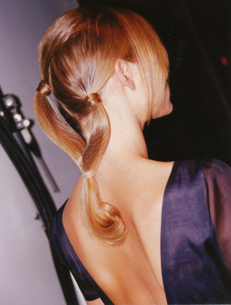 Dressy Double Level Ponytail by John Sahag – 1995