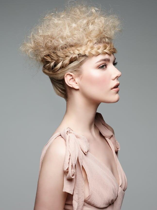 Holiday Hair Idea: Regal Crown Braid - 2015