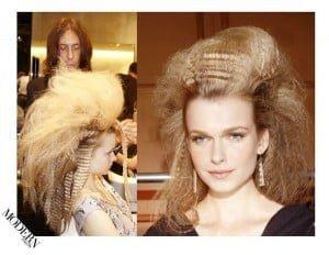 Backstage @ Fashion Shows on Modern Salon - 2016