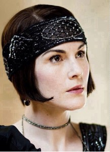 Downton Abbey 1920s Bob Bandeau Inspiration – 2016