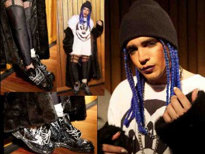 Blue Braids For Him @ 5:31 Jerome NYFW – 2016