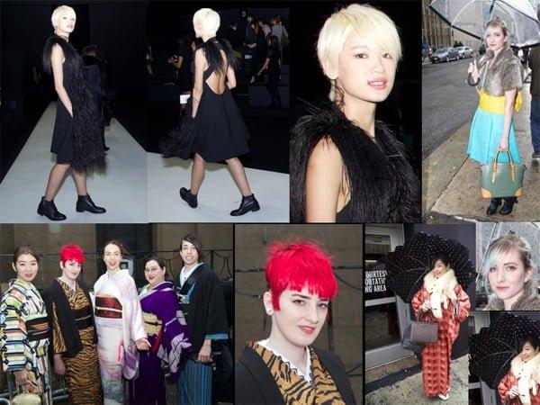Fab Fashionistas @ Vera Wang NYFW Fall – 2016