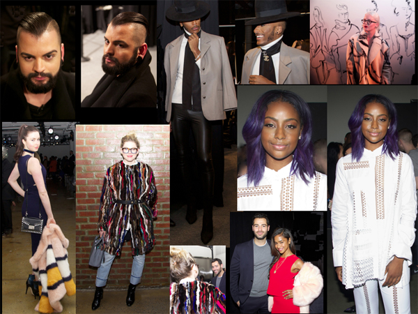 Seen on Scene Fashionistas @ NYFW Fall – 2016