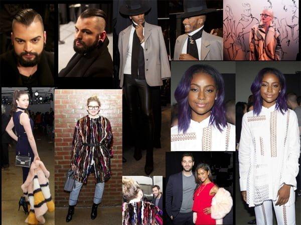 Seen on Scene Fashionistas @ NYFW Fall – 2016