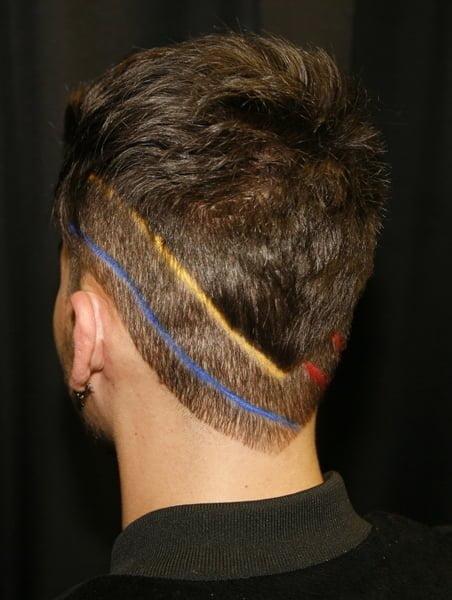 Wash-Out Chalks Stripe Hair - 2016