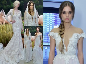 Brides Lengthen Braids With Extensions – 2017