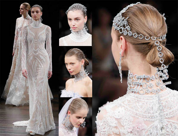 Dazzling Brides And Their Jewels, Spring – 2017