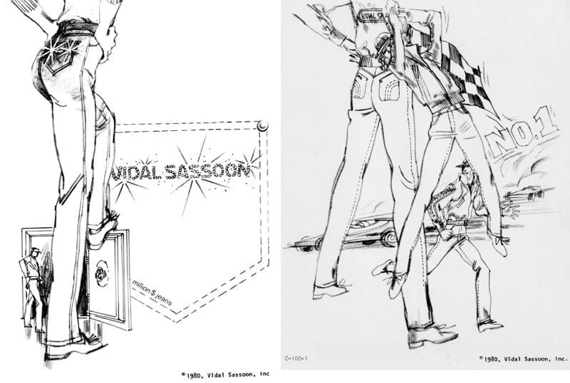 Vidal Sassoon Jeans History – 1980