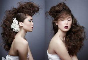 Hair For More Adventurous Brides - 2016