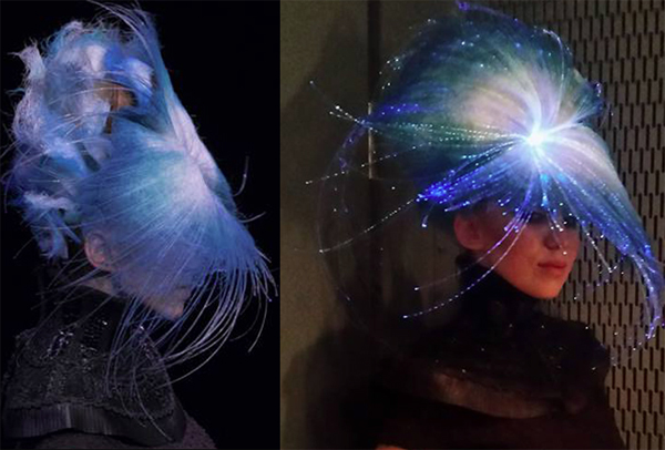 Fiber Optics Hair - 2016