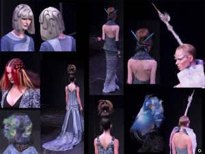 Peter Gray Hair Art - 2016