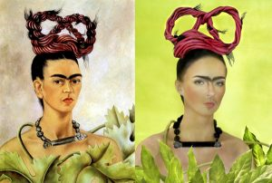 Frida Kahlo Painting & Photo - 1941/2016