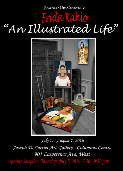 "Frida Kahlo ""An Illustrated Life"" - 2016"