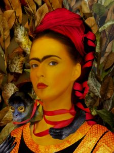 Frida Kahlo Photo Interpretations - 2016