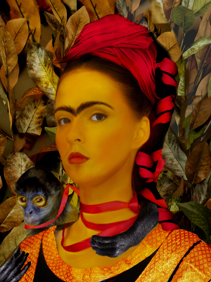 Frida Kahlo Photo Interpretations - 2016