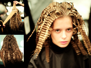 Hair Crimping Magic, NYFW - 2016