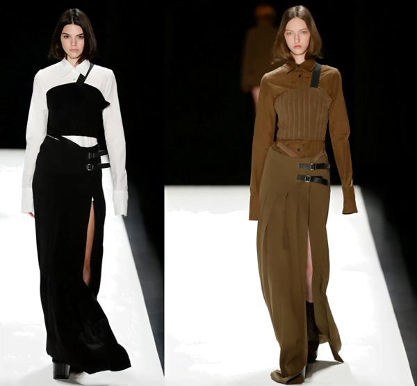 Long Skirts With Splits @ Vera Wang – 2016
