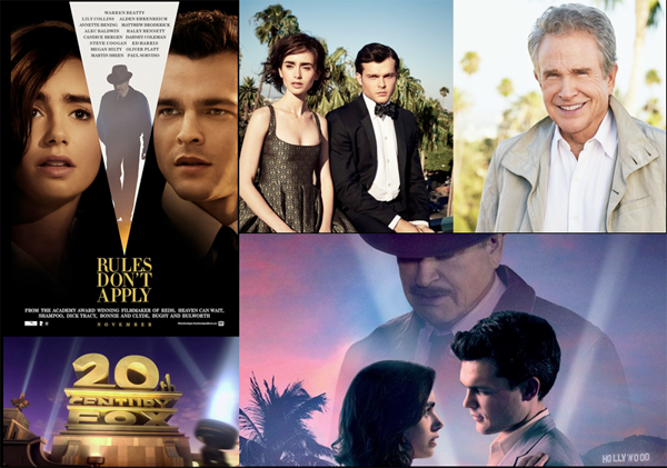 Rules Don't Apply, Warren Beatty Movie – 2016