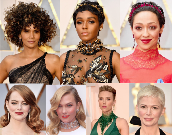 Winning Hair Picks Oscars - 2017