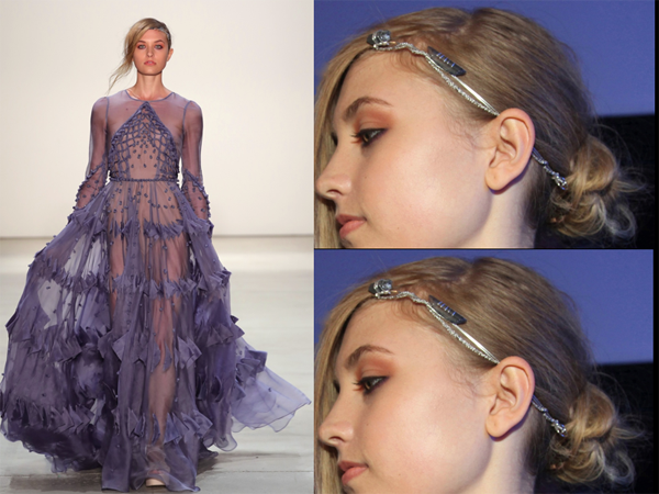 Hair Jewelry Dream Dress NYFW - 2017