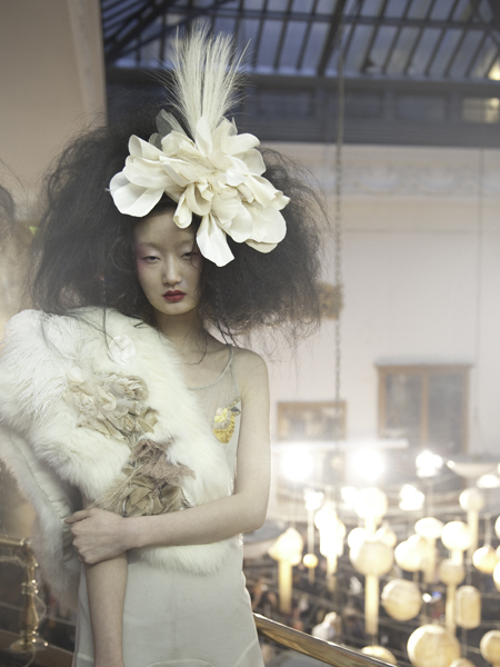Dreamy '20s-Inspired Geisha Bride – 2011