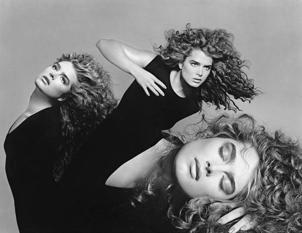 Brooke Shields Curly Curls - 1988
