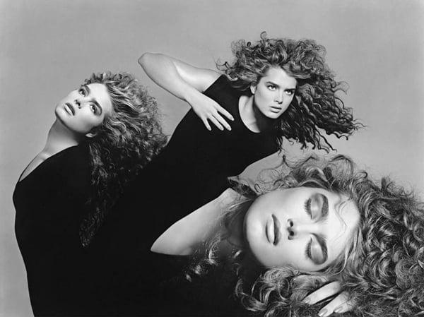 Rare Photo, Avedon, Sahag, Brooke - 1988