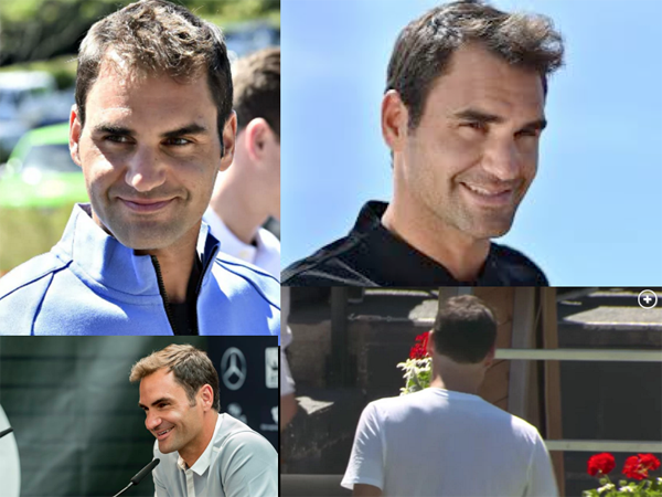 Oy! Federer's Chopped Hair Disaster - 2017