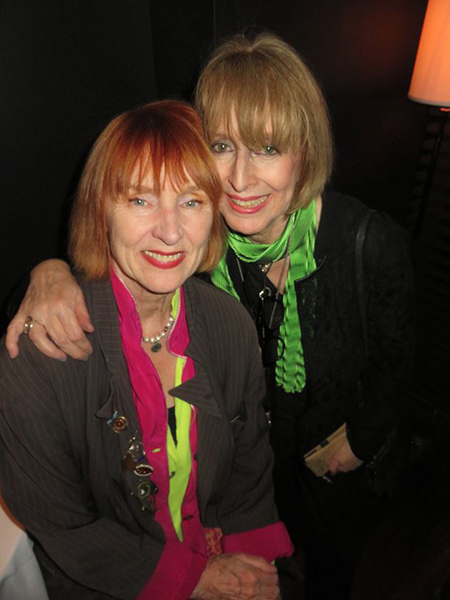 Love This Photo of Me With Linda Mason - 2017