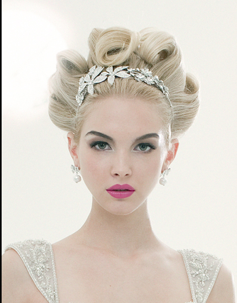 Vivienne Mackinder's Formal Bridal Hair - 2011