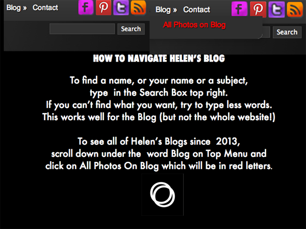 How To Search On Helen's Blog - 2017