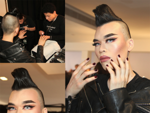 John Fabulin Nails It Backstage NYFW – 2018