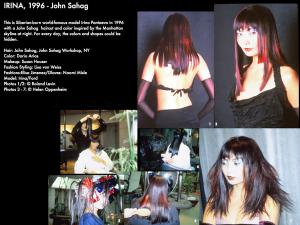 John Sahag Hair Inspired By NY Skyline – 1996