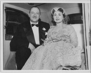 Jenny On Her Wedding Day W/My Uncle - 50s