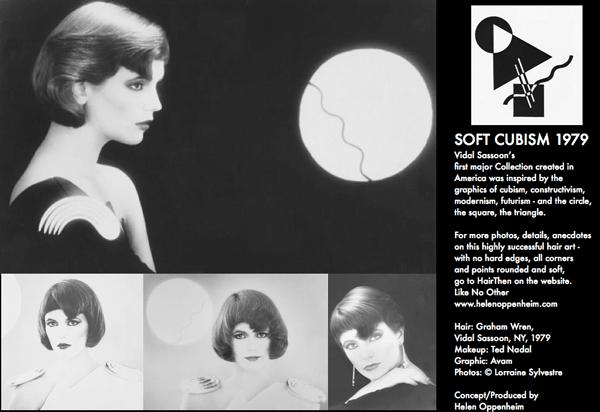 Vidal Sassoon Soft Cubism Hair - 1979