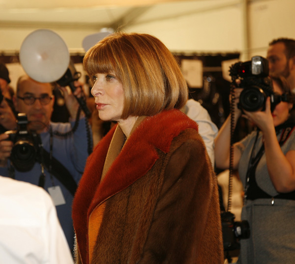 Anna Wintour and The Rumor Answered - 2018
