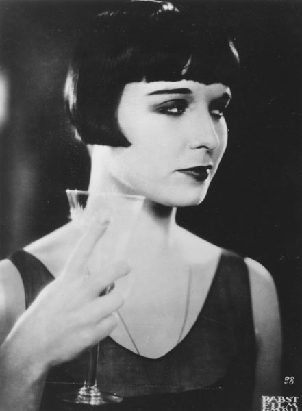 Louise Brooks With Her Lulu Bob - 1929