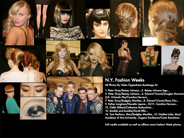 NY Fashion Weeks Hair Inspo 2008-2013