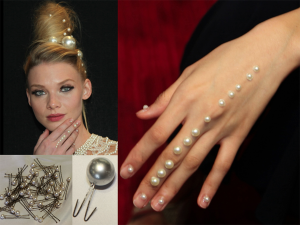 Pearls Decorate Hands, Nails, Hair – 2018
