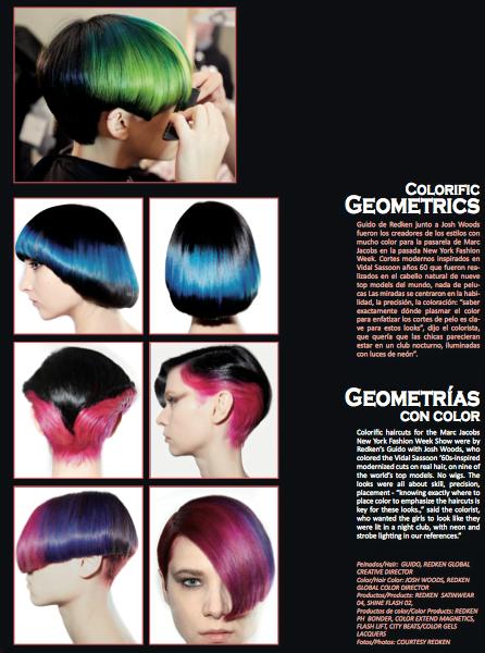 Colorific Geometric Hair NYFW - 2018