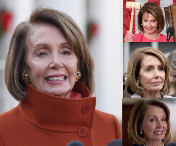 Nancy Pelosi and Her Hair Bob – 2019