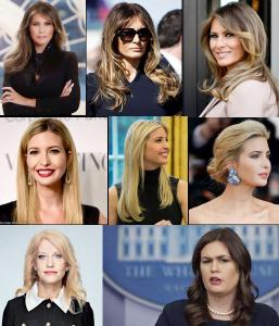 Trump Women & Their Ordinary Hair – 2019