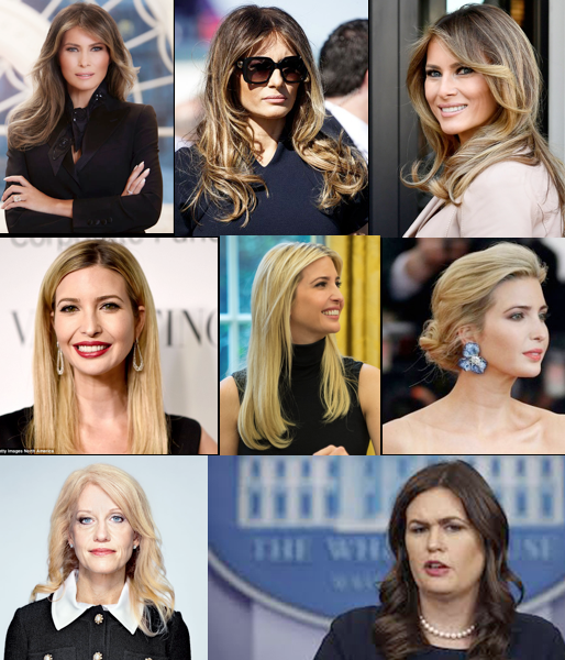 Trump Women & Their Ordinary Hair – 2019