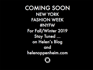 Coming Soon NY Fashion Week Fall - 2019