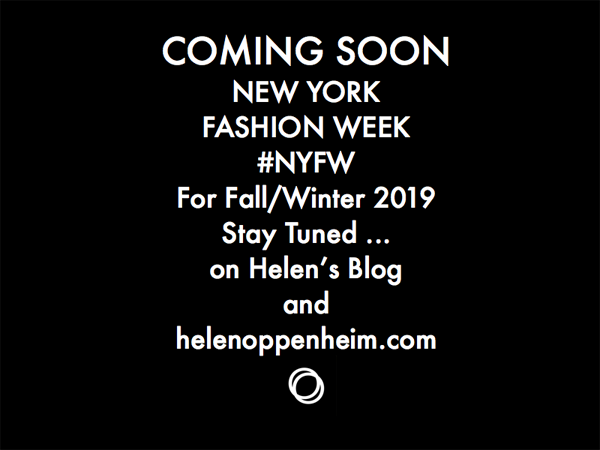 Coming Soon NY Fashion Week Fall - 2019