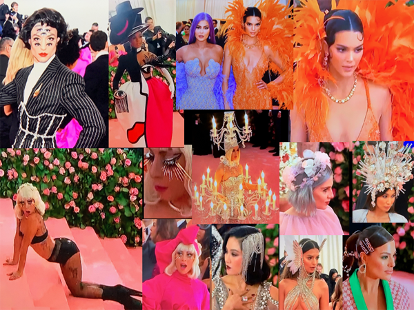 Camp Fashion Heads @ The Met Gala - 2019