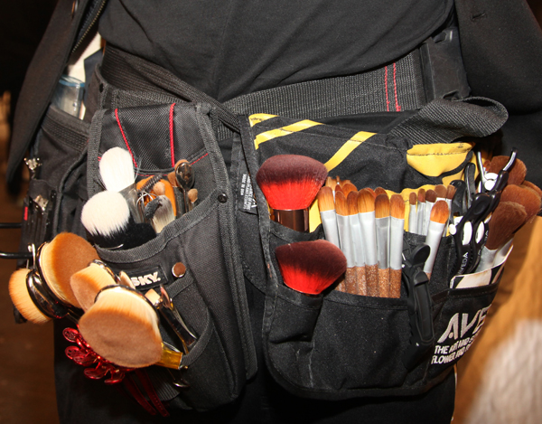 Aveda Makeup Brushes Backstage NYFW - 2019