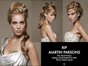 Martin Parsons Loved Hair Educator RIP - 2019